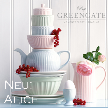 SOMMER  Kollektion 2016 : GreenGate Alice Everyday Kollektion